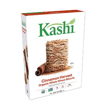 Kashi Organic Cinnamon Harvest Breakfast Cereal Product