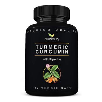 NuVitality Turmeric Curcumin Prouct
