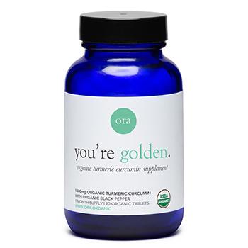 Ora Organic Turmeric Curcumin Pills Product