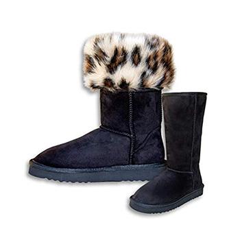 PAWJ California Short Vegan Fur Lined Boot Product