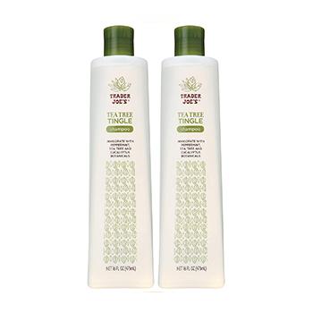 Trader JoesTea Tree Tingle Shampoo & Conditioner Product