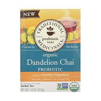 Traditional Medicinals Organic Ginger Herbal Tea Product