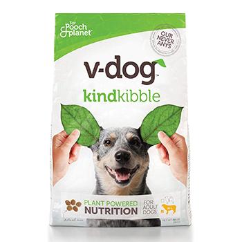 V-dog Vegan Kibble Dry Dog Food Product