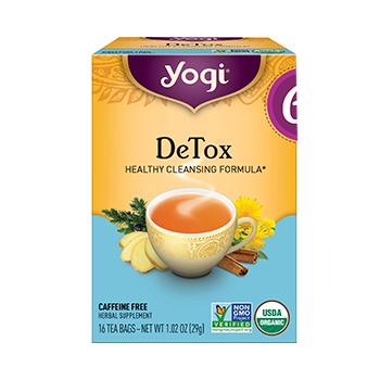 Yogi Tea Detox Tea Product
