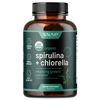 snap spirulina chorella
