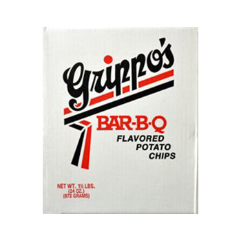 Grippos BBQ Potato Chips Product