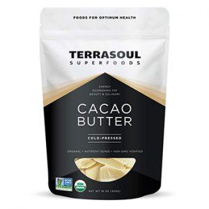 Terrasouls Raw Cacao Butter Sidebar
