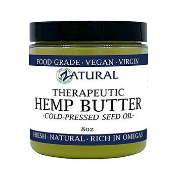 Zatural Therapeutic Hemp Butter Product