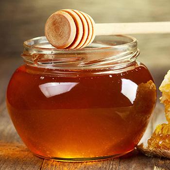 jar full of honey