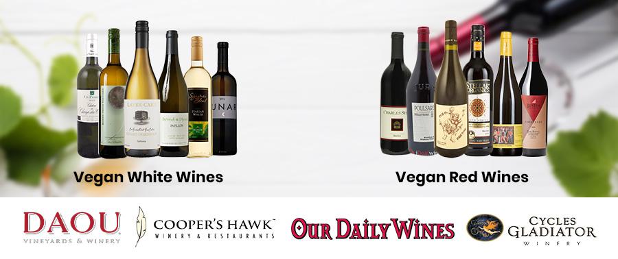 Vegan friendly wine products