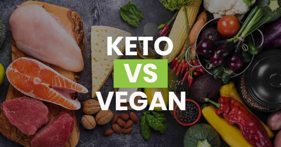 Keto Vs Vegan Featured Image