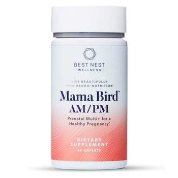 Best Nest Wellness Mama Bird AM PM Prenatal Multivitamin