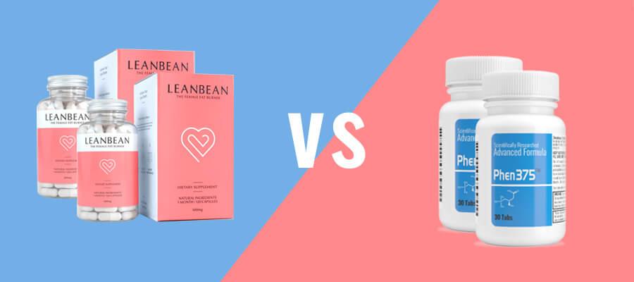 Leanbean vs Phen375 featured