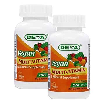 deva vegan multivitamin product