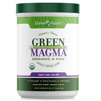 green magma powder