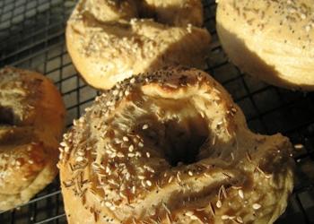 Bagels with Vegan Spread