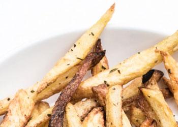 vegan made french fries