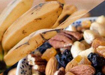 Banana and Dried Fruits
