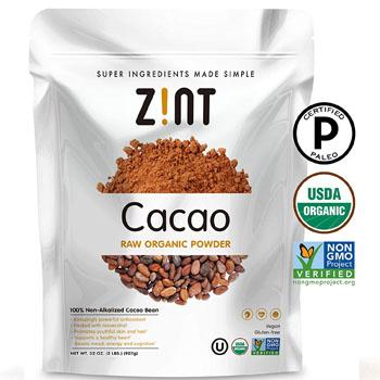 zint cacao powder