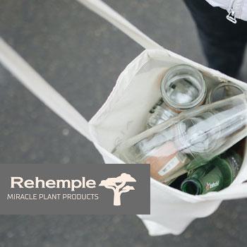 Bottles inside a Rehemple Bag