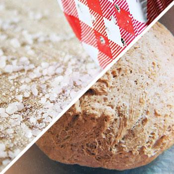 salt and yeast