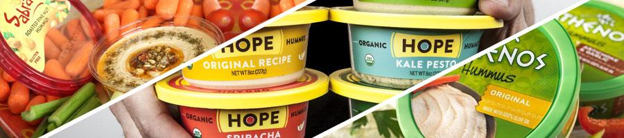 different hummus brands