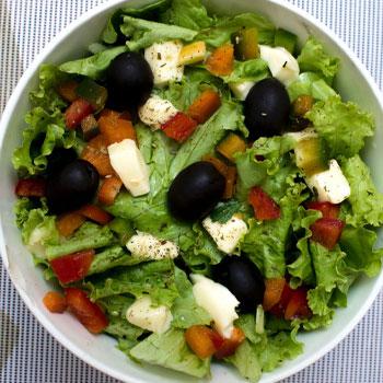 a salad bowl