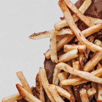 Cajun Style Fries Closeup