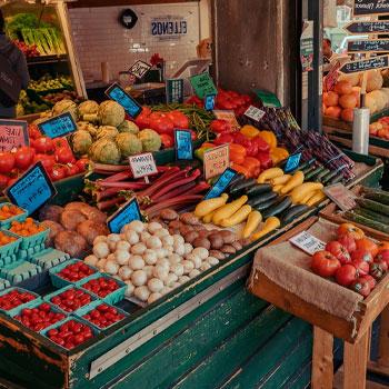 wet market vegetable needs